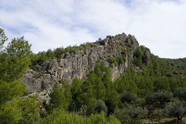 gekippte Schichten ~ Paradies für Kletterer