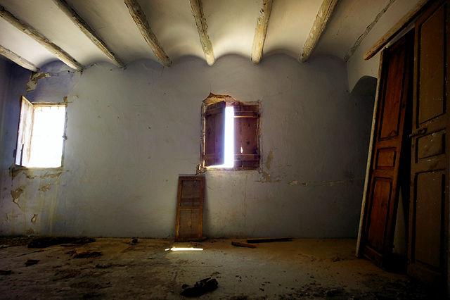 verlassenes Bauernhaus ~ Obergeschoß