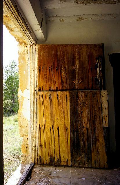 geteilte Eingangstür