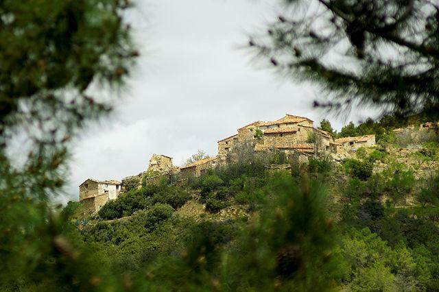 Nachtrag zur Sierra de Gúdar ~ ein ganzes Dorf am Hang
