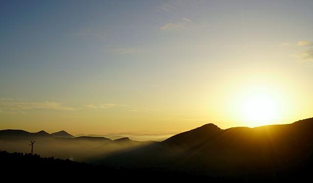 Sonnenaufgang ~ da! Sonne!