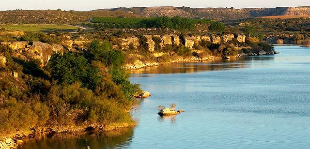 Mar de Aragon ~ Ufer im ersten Morgenlicht