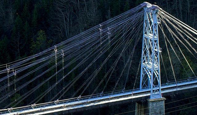 Pont Gisclard, Ausschnitt eins