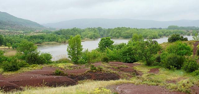 * Lac du Salagou ~ ab jetzt regennass :( *