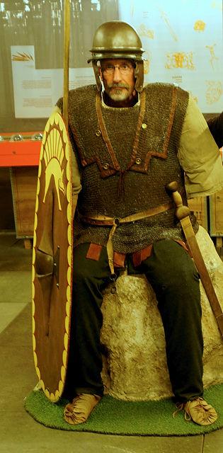 Gallischer Krieger ~ sieht mir ein wenig ähnlich, oder?