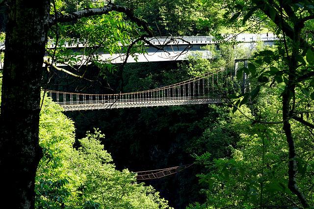 3 Generationen ~ Brücken über den Cannobino nach  Cavaglio