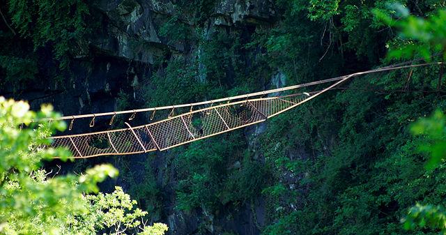 läßt-sich-hängen-Brücke, älteste Generation