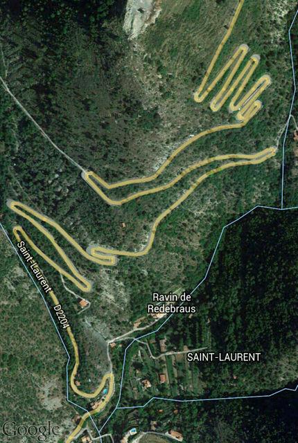 Aufstieg ~ Google Maps Screenshot