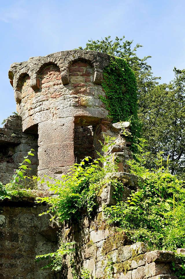Burg Wildenberg, Wachturm ~ immer noch keine Prinzessin . . .