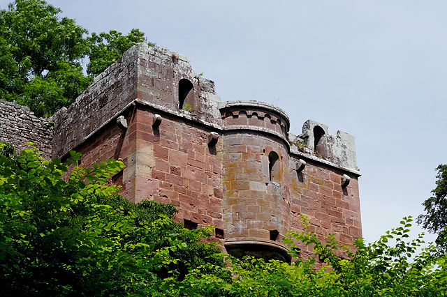 Burg Wildenberg, aber wo ist die Prinzessin?