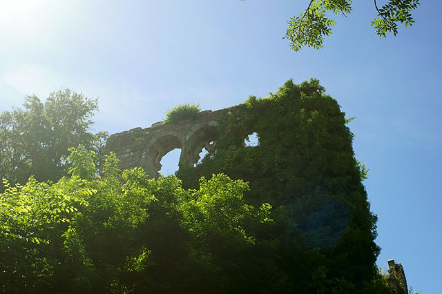 . . . über eine verwunschene Burg . . .  Burg Wildenberg