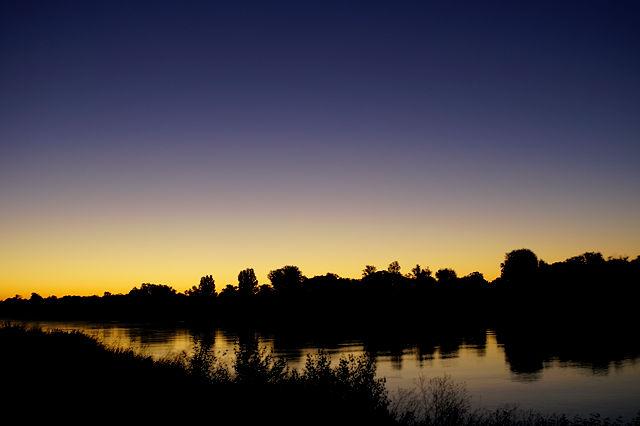 Morgenstimmung am Rhein