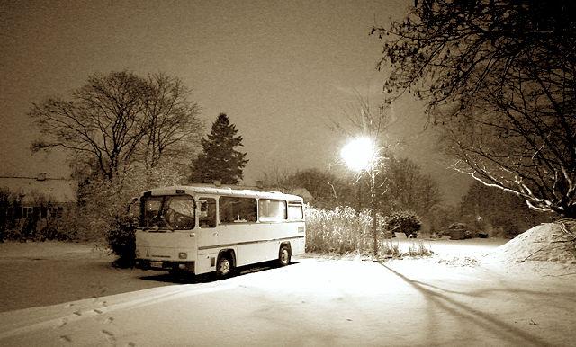 Nacht & Schnee & der alte Herr Magirus
