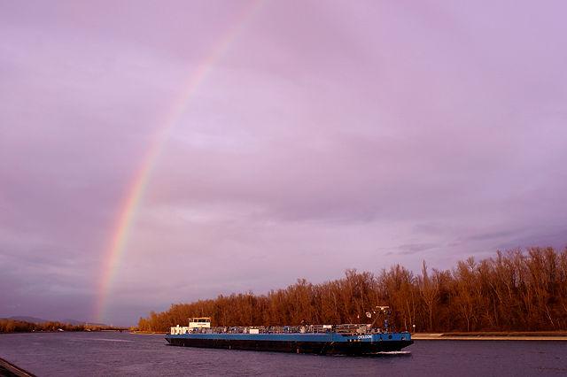 der Anfang, nicht das Ende des Regenbogens!