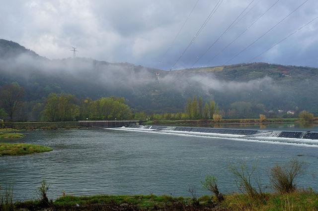 Rhône ~ Morgenbild II