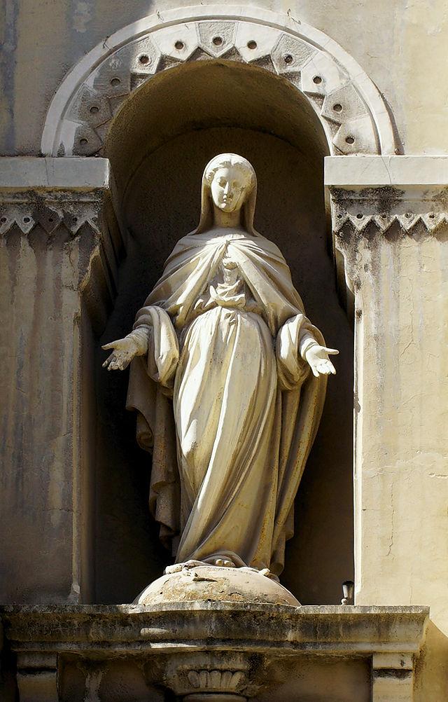 Maria Dulcinea, oder duldende, an der integrierten Kirche