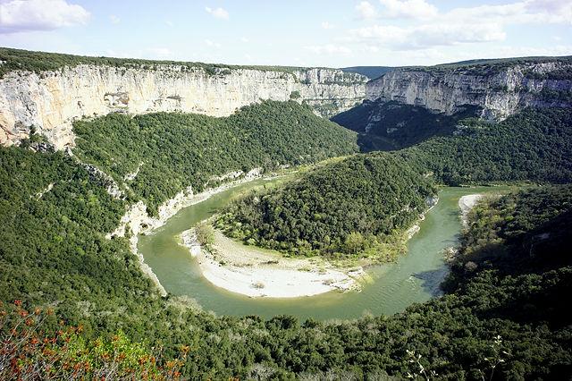 Ardèche von oben