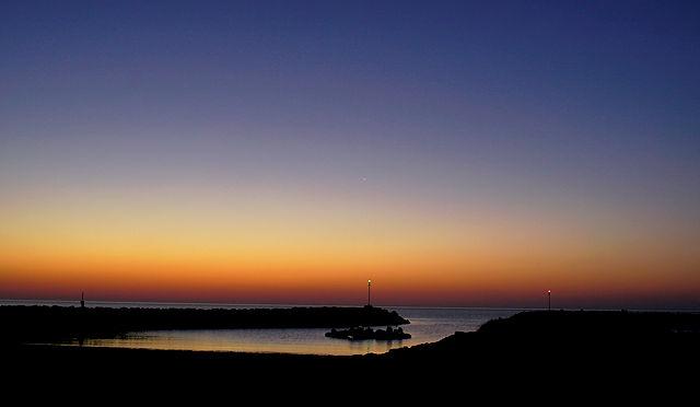 Morgenbild, diesmal vor Sonnenaufgang