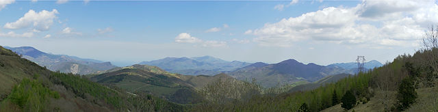 Coll d'Ares ~ Blick nach Frankreich