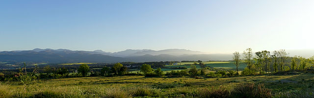 * Pyrenäen, Morgenbild *
