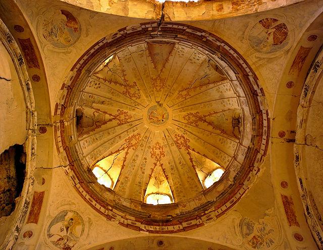 Ermita Magdalena ~ Kuppel mit Fresken