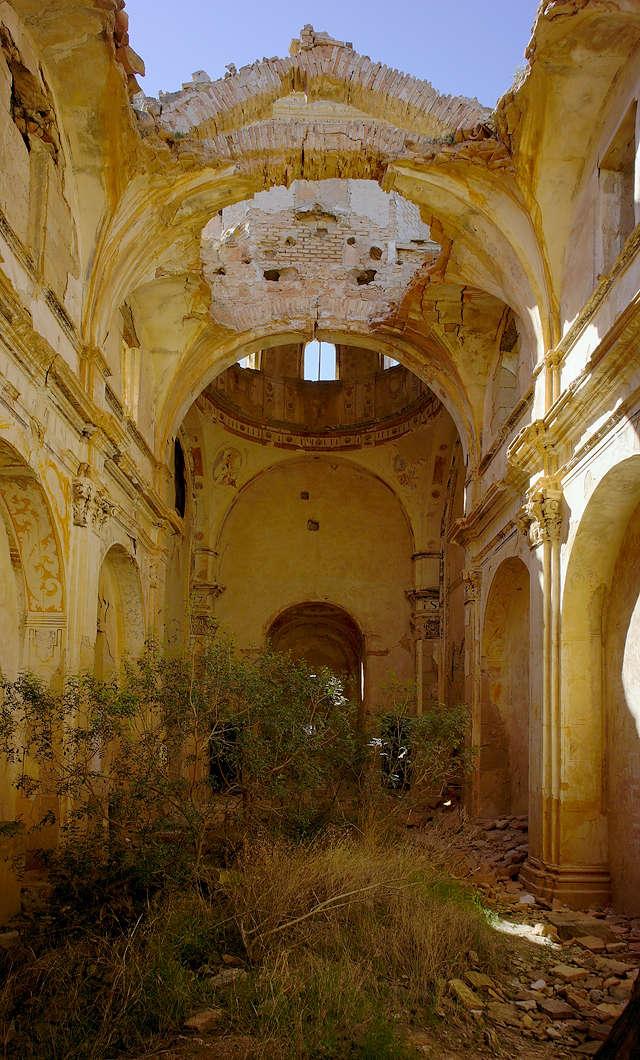 Ermita Magdalena ~ der erste Blick in das Innere der Kirche