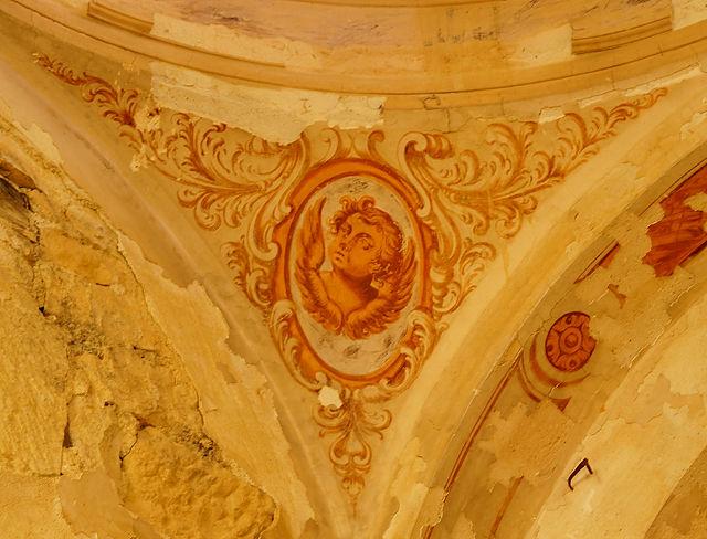 Ermita Magdalena ~ im Detail, Putto