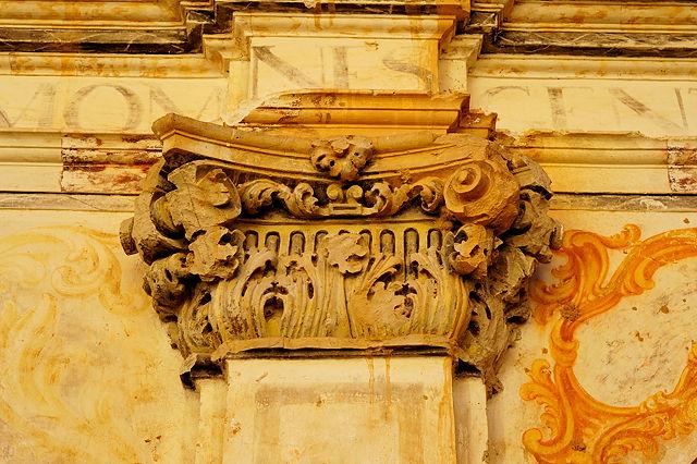 Ermita Magdalena ~ im Detail, Kapitell