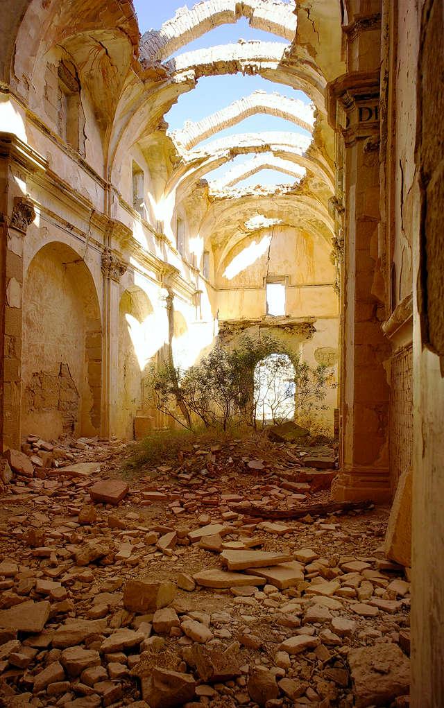 Ermita Magdalena ~ Blick in das Innere der Kirche