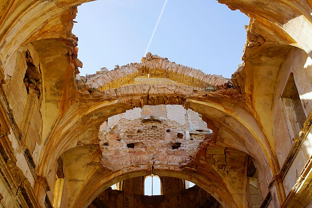 Ermita Magdalena ~ 'luftige' Deckengewölbe
