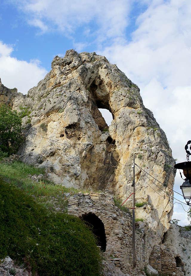 von der anderen Seite: la roca Foradada