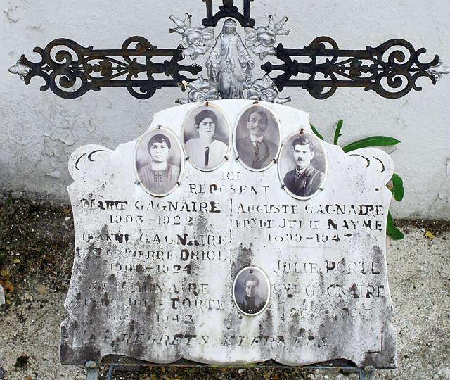 Photos der Verstorbenen