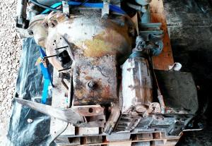 Kupplungsglocke, Winkeltrieb Schaltgetriebe FZ S5-30