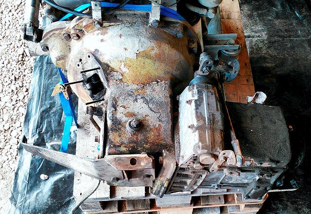 Kupplungsglocke, Winkeltrieb, Schaltgetriebe ZF S5-30