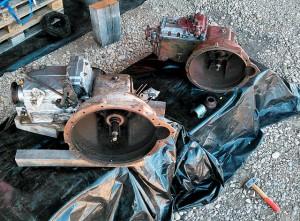 das sich gleichende ungleiche Pärchen ~ Getriebe aus Magirus 120-R80 und 130-R81