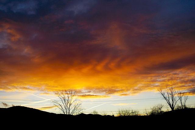 ein flammender Morgen
