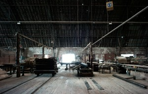Zeppelinhalle ~ Sägehalle