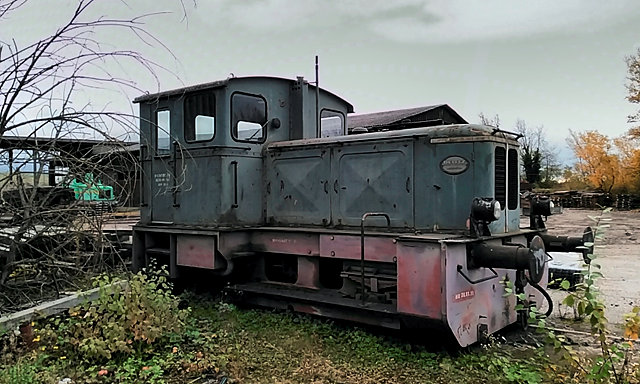 Deutz Rangierlokomotive