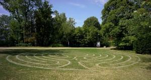 Labyrint in der Colchester-Anlage