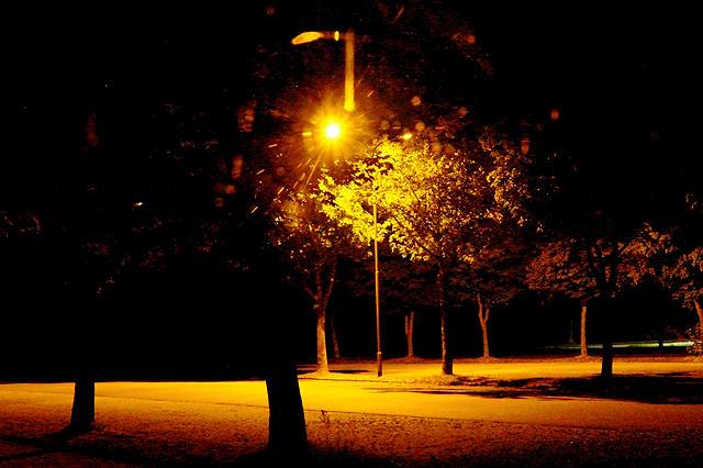 Ruhe in der tiefen Nacht