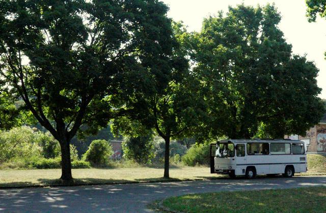Schattenparkplatz zwischen Lahn und Dill