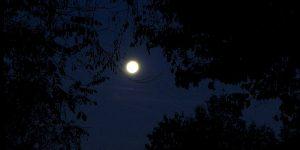 La Luna am Morgen