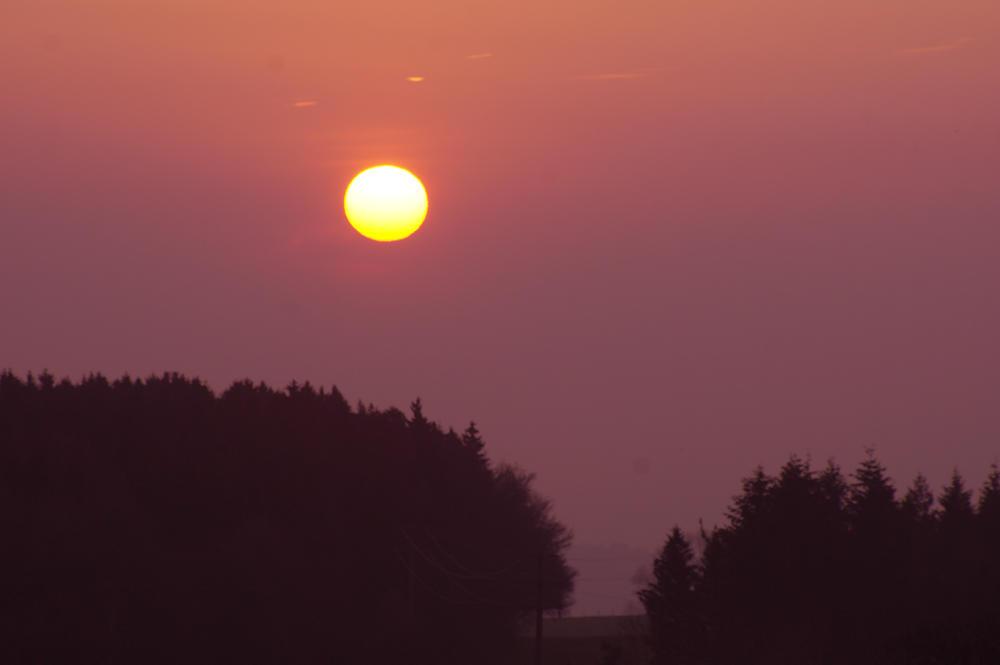 Sonnenaufgang, wieder mal