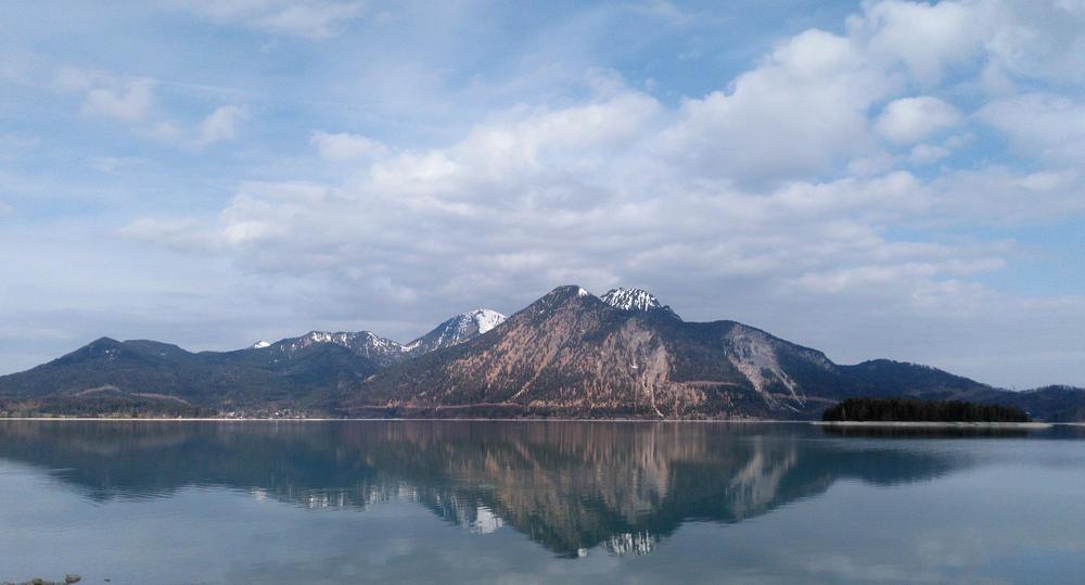 Walchensee ~ Blick auf den Herzogstand