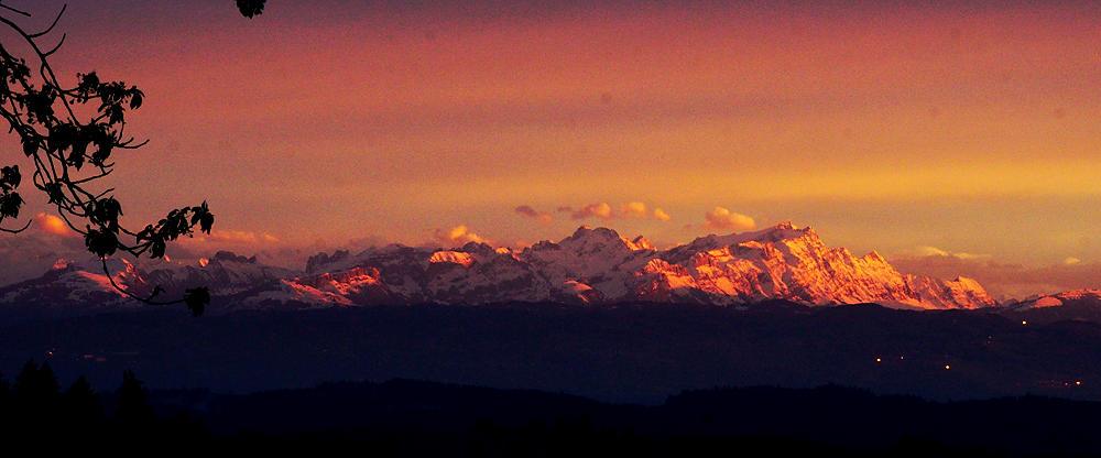 Alpen und Licht