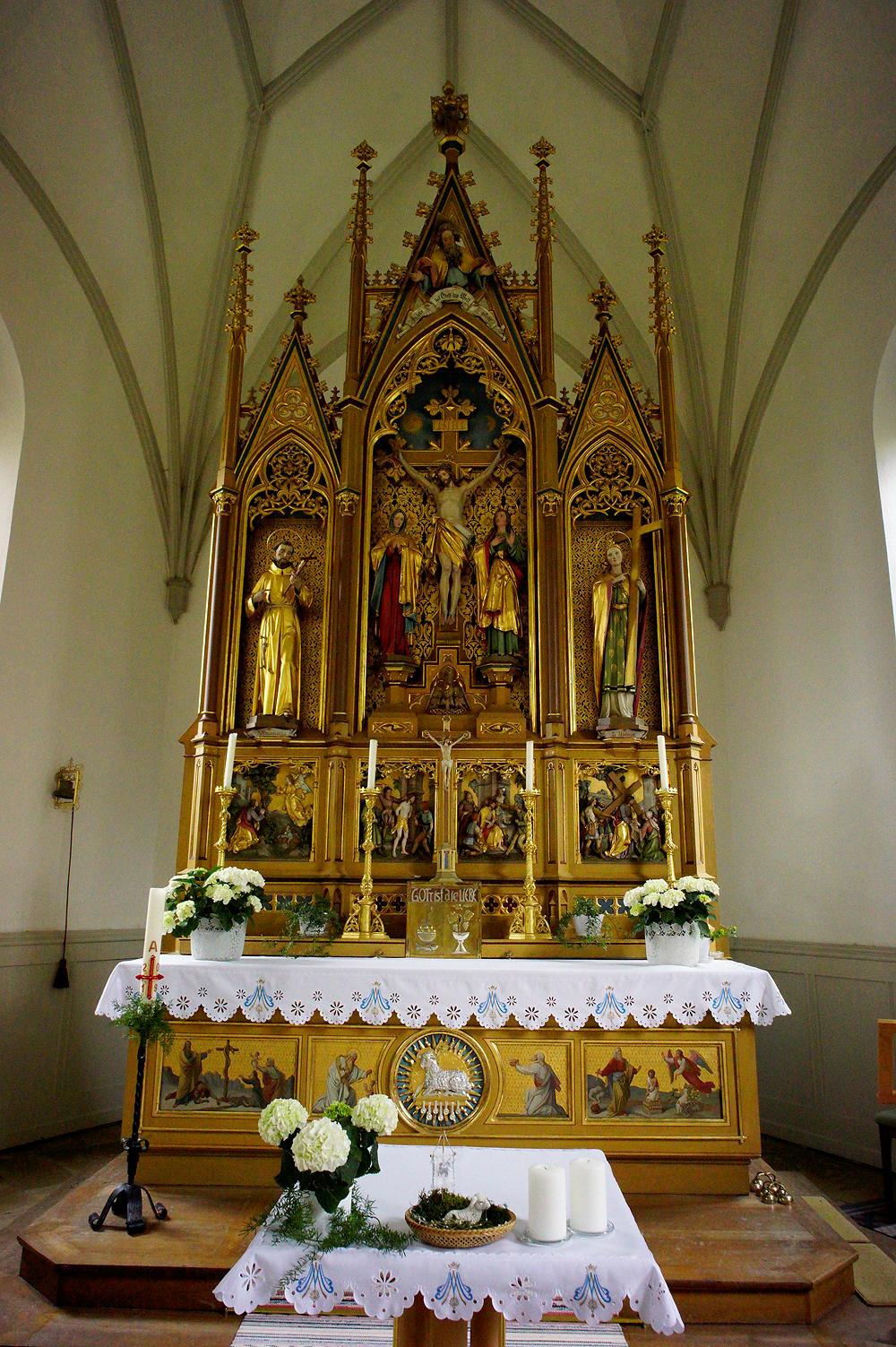 Wallfahrtskapelle Gschnaidt ~ Altar