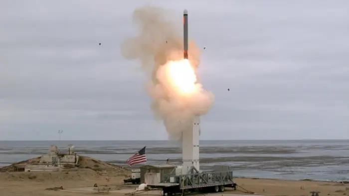 US-Raketentest am 18. August 2019. MK-41 und Tomahawk Bild: US-Verteidigungsministerium/gemeinfrei