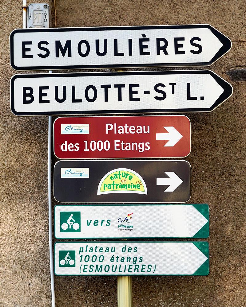 zum Plateau de 1000 Etangs hier entlang!