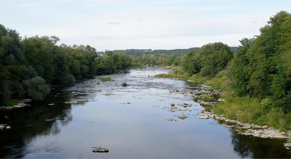 und weiter fließt la Moselle . . .