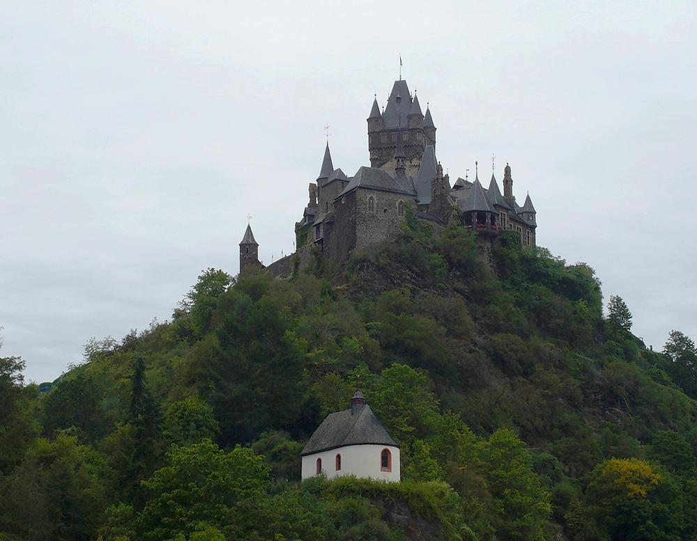 Cochem, nur Burg